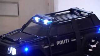 Part 4 - Preview of Traxxas Summix VXL Police car