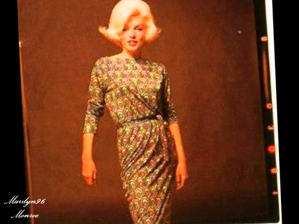Marilyn Monroe Green Emilio Pucci Dress Marilyn Monroe The Green