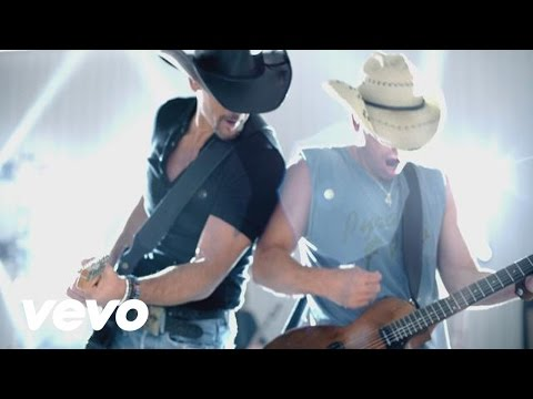Kenny Chesney & Tim McGraw - Feel Like A Rock Star Music Videos