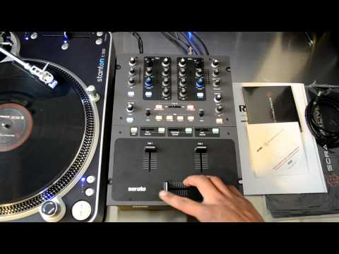 Rane Sixty-One Serato SSL Professional DJ Mixer Review Video