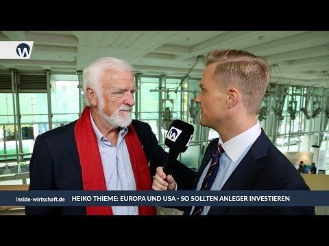 Heiko Thieme: Aktientipps, Börsen-Prognose, Dax, Euro, Gold, Öl