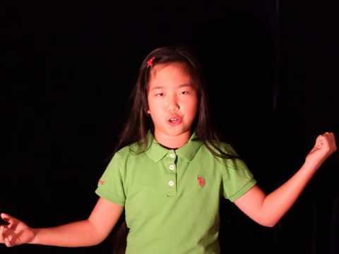 Nina Lu's Monologue Practise of Hollywood Showcase 2015
