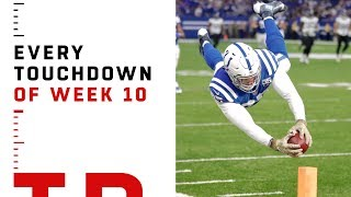 Every Touchdown from Week 10 | NFL 2018 Highlights