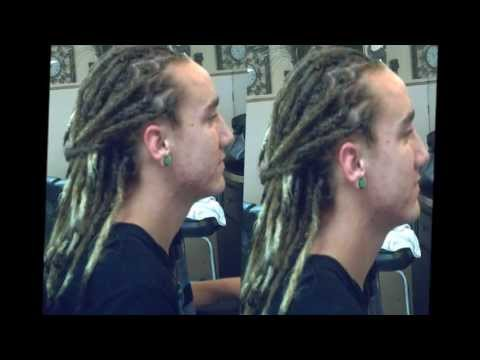 How to make your hair look like dreads