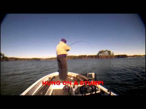 jan 2014 LAKE GUNTERSVILLE bass fishing