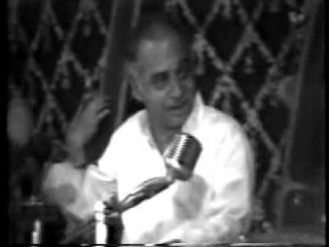 Dr. Vasantrao Deshpande- Raga Ahir Bhairav