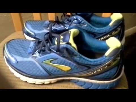 Brooks Ghost 7 Running Shoe Review and Unboxing