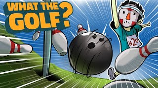 THIS GOLF GAME IS CRAZYYY!!!! SPORTS, PORTAL & SUPER HOT - What The Golf