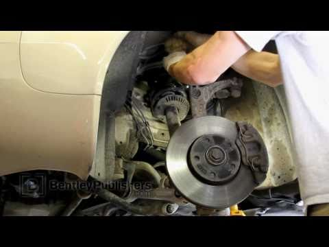 Audi A6 (C5) 1998-2004 - Front upper control arm replacement DIY, how to