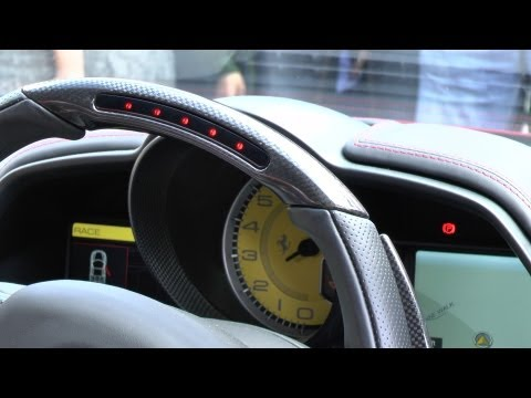 LOUD REV BATTLE - LP640, 458 Spider, Tubi R8, Maserati!!