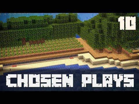 Chosen Plays Minecraft 1.13 Ep. 10 Semi Automated Tree Farm