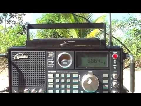 9665 khz  Radio Voz Missionaria , Camboriu , Santa Catarina , Brazil