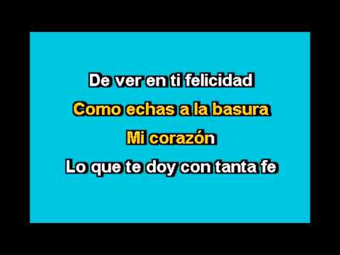 Basta Ya - Jenni Rivera Karaoke (Tono Bajo);Marco Antonio Solis.