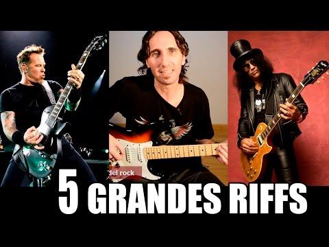 Aprende 5 Grandes Riffs De La Historia Del Rock En Guitarra Eléctrica TCDG