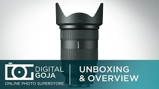 Sony FE 24-70mm f/2.8 G-Master Full Frame E-Mount Lens | Unboxing and Overview Video