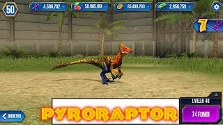 Jurassic World - LEVEL 40 PYRORAPTOR