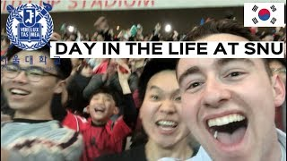 Day in the Life of a Korean University Student | SNU South Korea | 서울대대학생의 일상