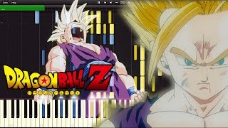 Dragon Ball Z OST - Gohan Angers | Piano Tutorial, ?????????????
