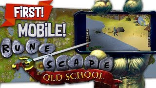 """OSRS """"Runescape Mobile"""" Review 