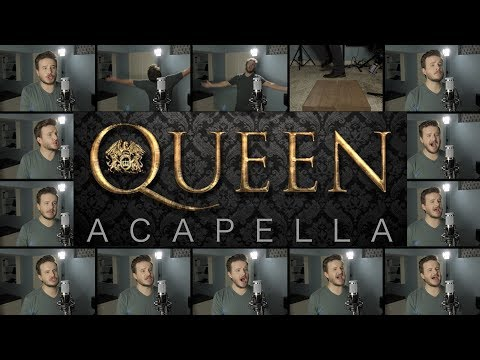 Queen (ACAPELLA Medley) - Bohemian Rhapsody, We Will Rock You, Don't Stop Me Now, and MORE!