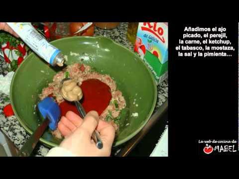 Pastel de carne en el microondas - La web de cocina de Mabel