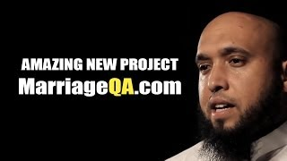 AMAZING NEW MARRIAGE PROJECT: What is MarriageQA.com – Tariq Appleby