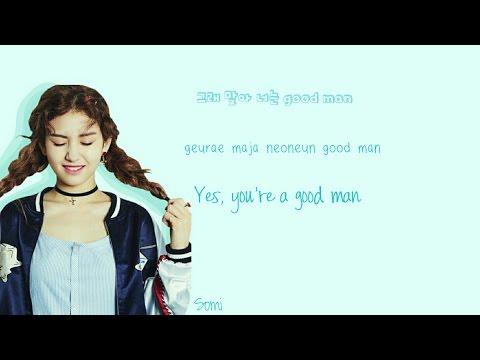 I.O.I (아이오아이) Whatta Man Lyrics (Han Rom Eng) Color Coded