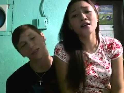 American Boy sings with his Pinay Girlfriend -upload Mr.echo
