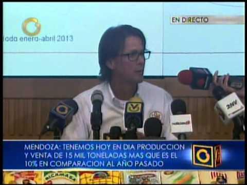 Lorenzo Mendoza afirma que Empresas Polar sólo produce el 48% de harina en el país