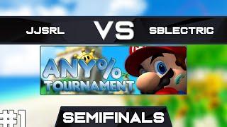 JJsrl vs SBlectric   Semifinals Race 1   GSA SMS Any% Speedrun Tournament Spring 2019