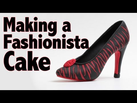 How to Make a Fashionista Cake in Minutes   Cake Tutorial