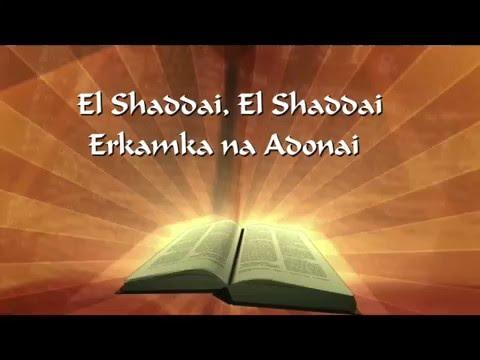 El Shaddai With Lyrics