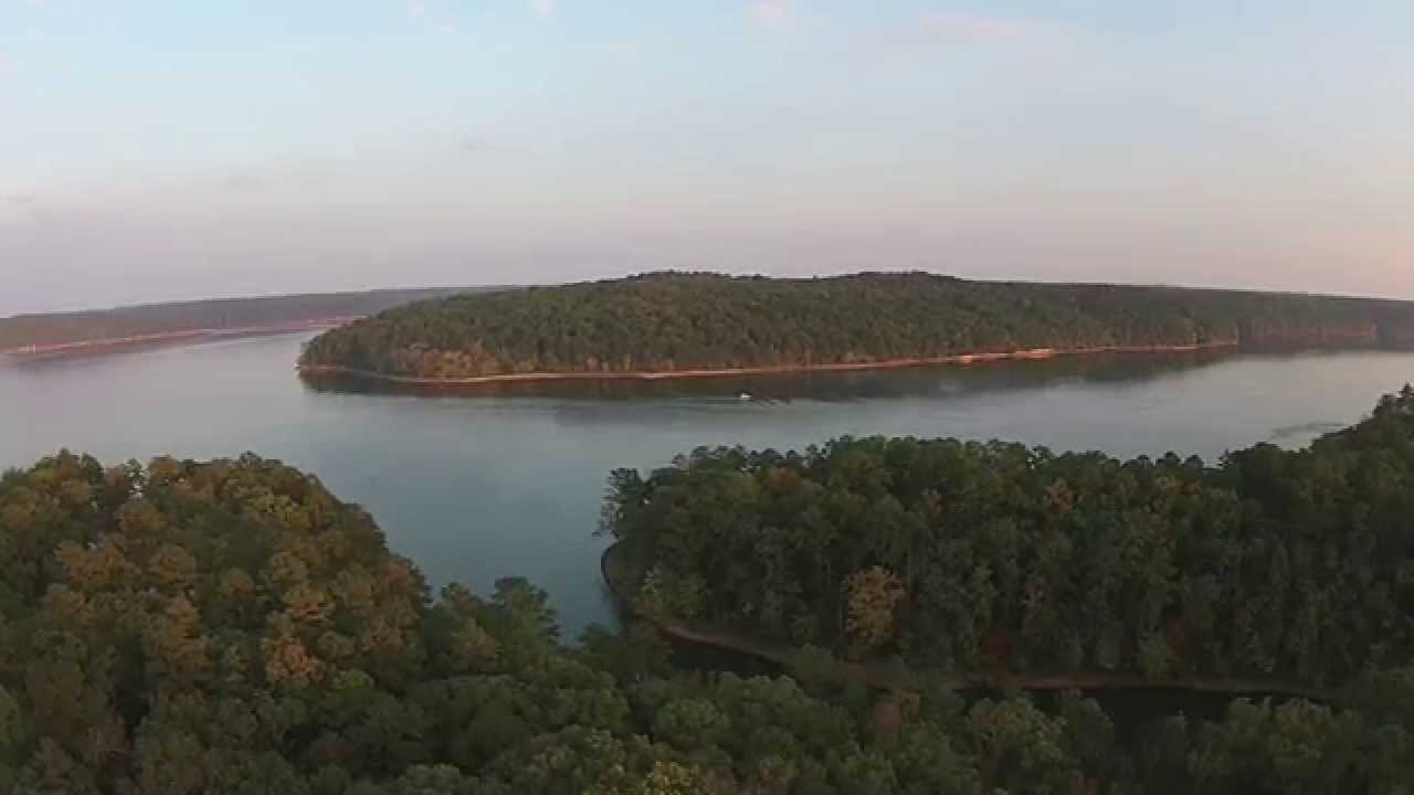 Fall at pickwick lake from above youtube for Pickwick lake fishing report