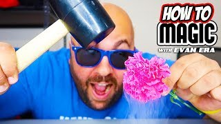 10 Magic Tricks with Liquid Nitrogen!