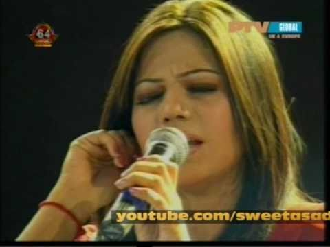 Sanam Marvi LiveTV Awards 2010 ( Pareetam mat pardes padharo ) PTV GLOBAL