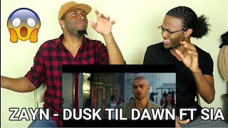 ZAYN - Dusk Till Dawn ft. Sia (REACTION)