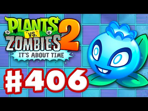 Plants vs. Zombies 2: It's About Time - Gameplay Walkthrough Part 406 - Electric Blueberry! (iOS)
