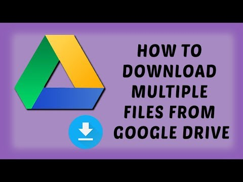 How To Download Multiple Files From Google Drive | Tutorials In Hindi