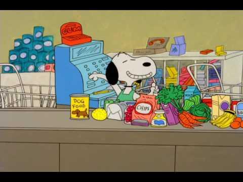 Joe Cool at the Supermarket