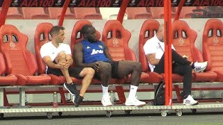 Manchester United Train In Singapore - Romelu Lukaku Sits Out