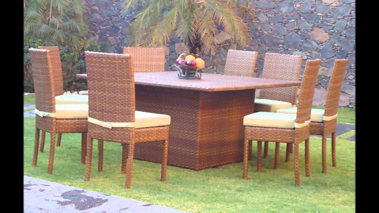 Muebles para terraza y jardin youtube for Muebles para terraza y jardin