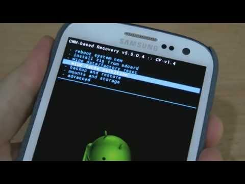 Flash / Install ClockworkMod Recovery on Android Phone