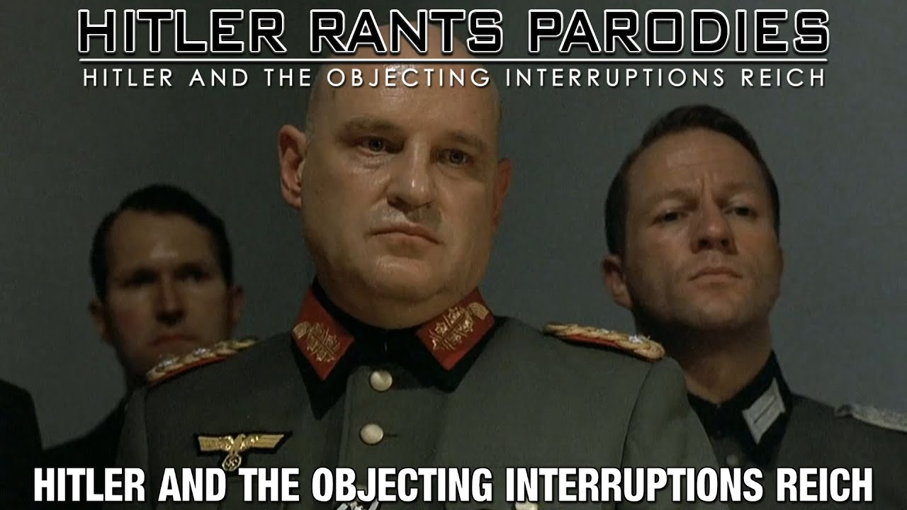 Hitler and the objecting interruptions