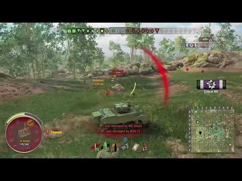 World of Tanks Xbox one M5A1 Stuart 6 Kills