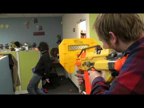 NERF Stampede Heavy Blaster from ThinkGeek