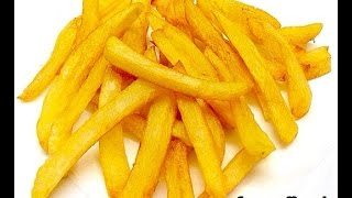 French Fries Home made  / Crispy French-fried potatos