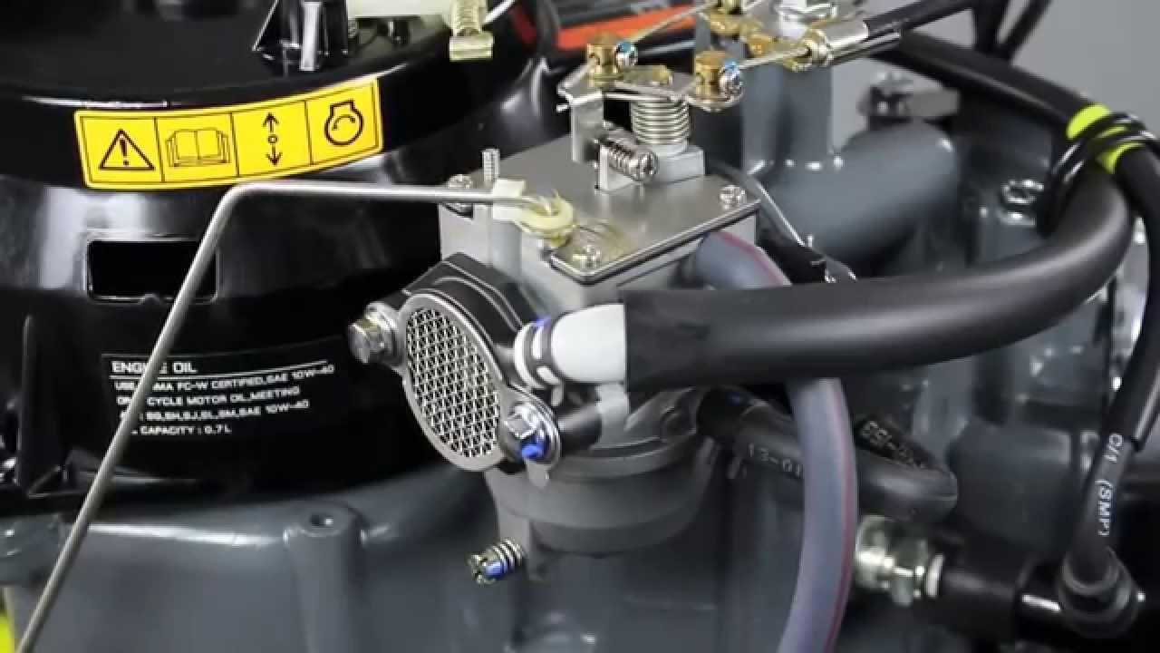 Обзор лодочного мотора Suzuki DF4, DF5, DF6 - YouTube