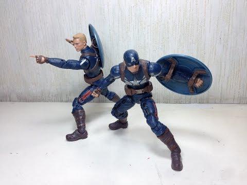 Captain America Stealth Suit Marvel Legends Toy Review
