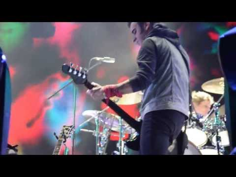The Cure - Cold - A Strange Day - The Hanging Garden Asuncion del Paraguay  09 April 2013