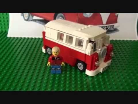 Lego VW Camper Van MOC (My Own Creation)